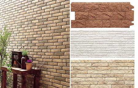 Виды фасадных панелей