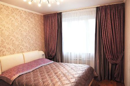 Плотные занавески в спальню