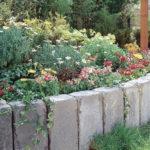 Как сделать подпорную стенку из бетонных блоков