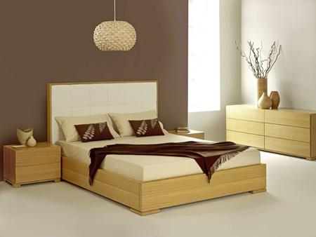 Современный минимализм в спальне