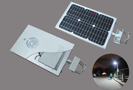 Автономный уличный фонарь на солнечной батарее