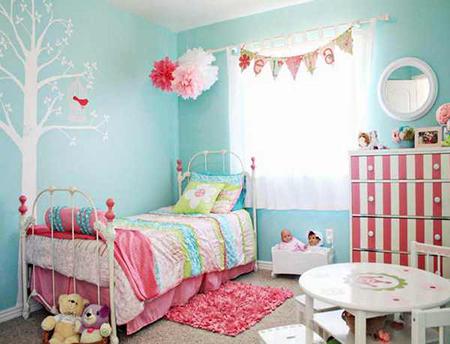 ой цвет в детской спальне