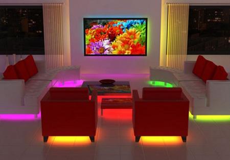 Лед-подсветка мебели