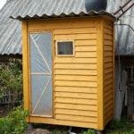 Летний душ для дачи: варианты исполнения и материалы