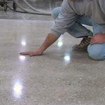 Чем и как шлифовать бетонный пол