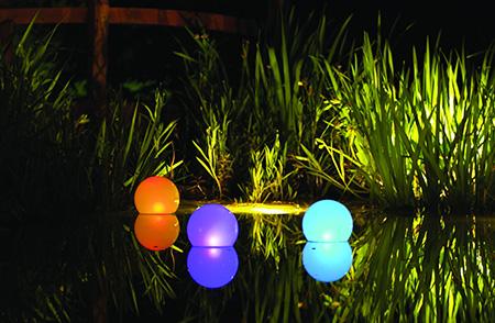 Светодиодная подсветка водоема