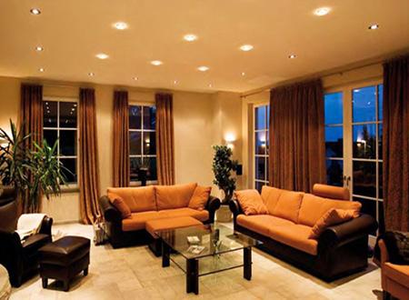 Светодиоды в гостиной