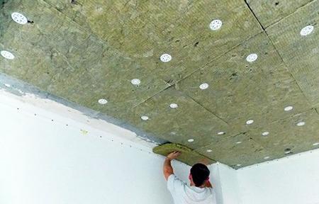 Базальтовые плиты для потолка
