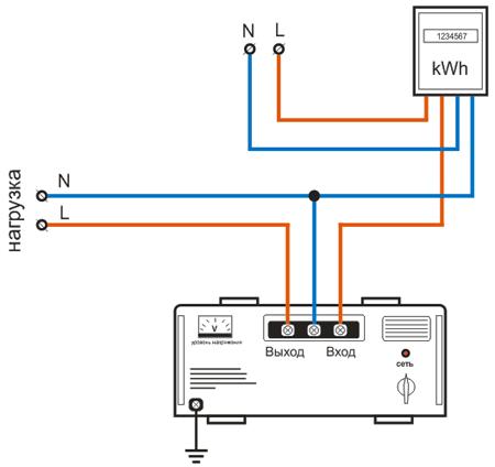 Подключение стабилизатора с тремя фазами