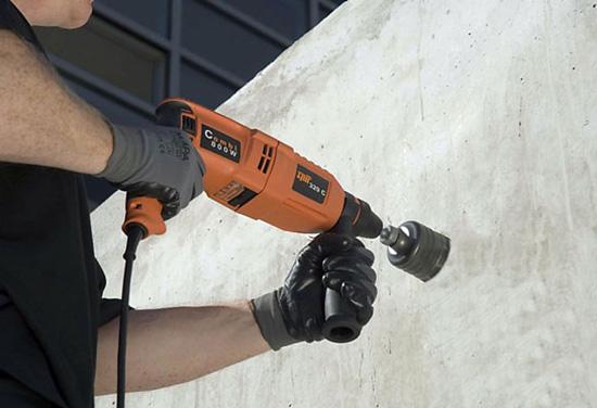Коронка для подрозетников по бетону