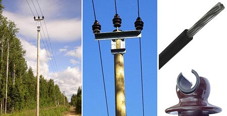 Область применения провода СИП-2