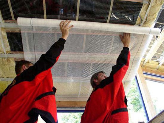Для деревянного теплоизоляция дома потолка