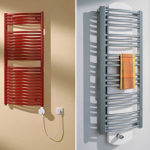 Какой полотенцесушитель выбрать для ванной комнаты: водяной или электрический
