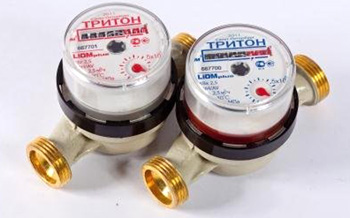 Механические счетчики воды Тритон