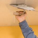 Шпаклевка потолка из бетона или гипсокартона под покраску