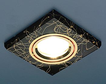 Точечный светильник квадратный