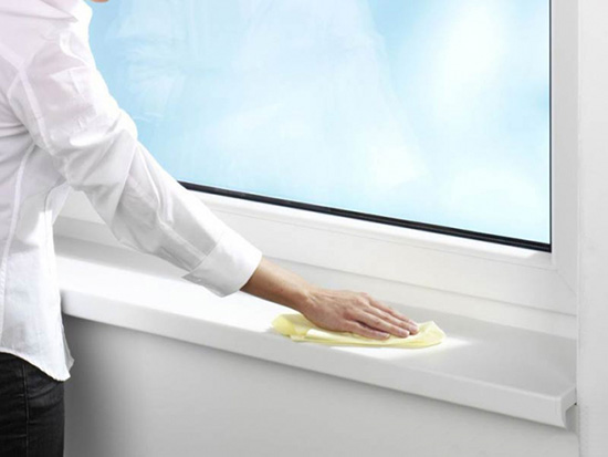 Чем отмыть пластиковые окна и подоконник