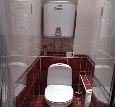 Размещение накопительного водонагревателя